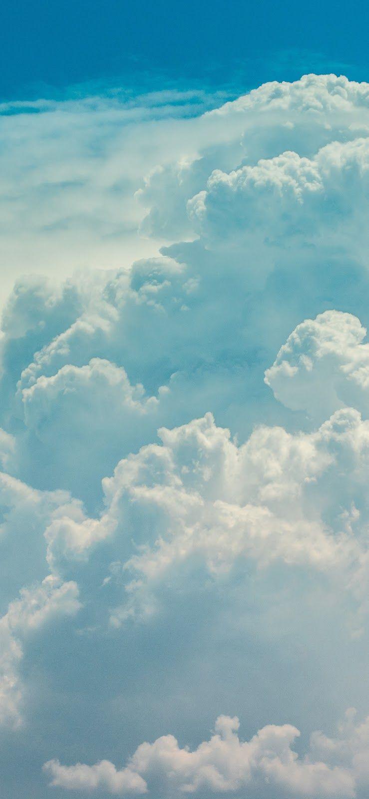 Cloudy Sky Iphone X Iphone Backgrounds Nature Iphone Wallpaper Sky Blue Sky Wallpaper