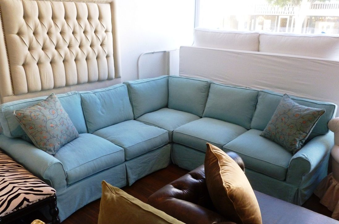 Stretch Slipcovers for Sectional Sofas - Home Furniture Design : denim sectional sofa - Sectionals, Sofas & Couches