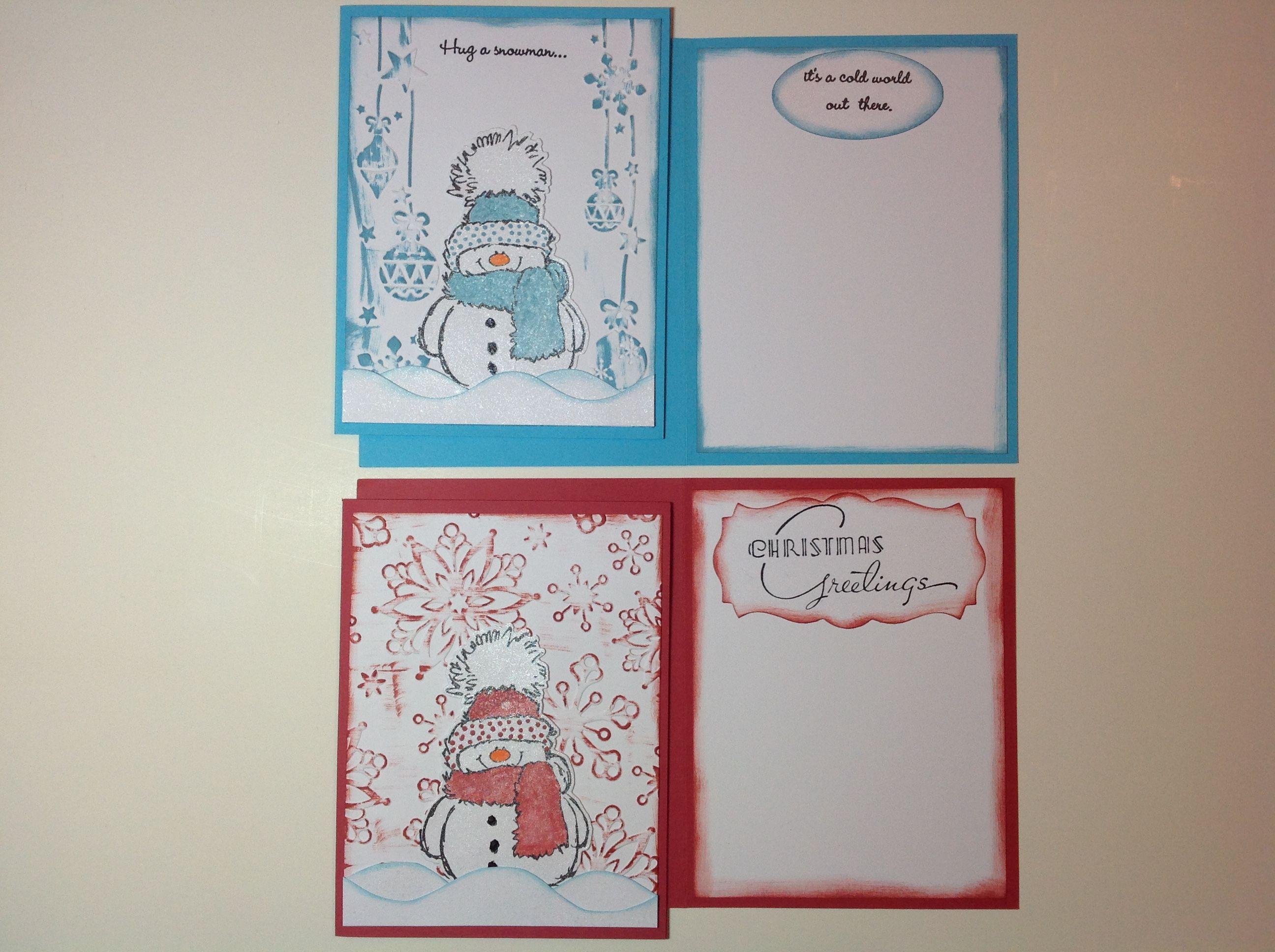 Winterxmas cards blue darice embossing folder morning star winterxmas cards blue darice embossing folder morning star greeting stamp kristyandbryce Images