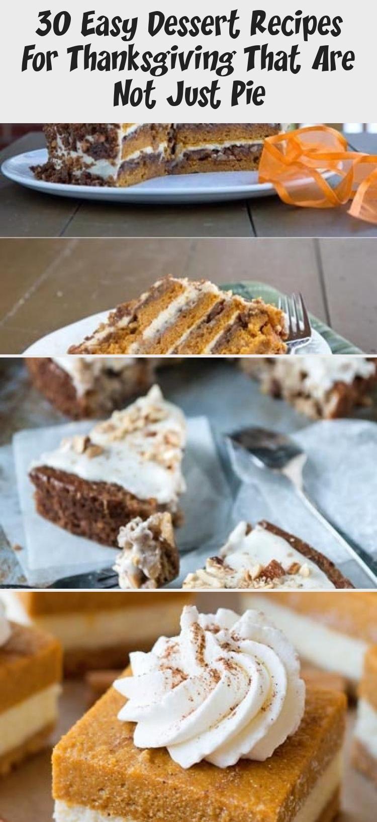 Photo of 30 recetas fáciles de postres para el Día de Acción de Gracias que no son solo pastel – Recetas de carne