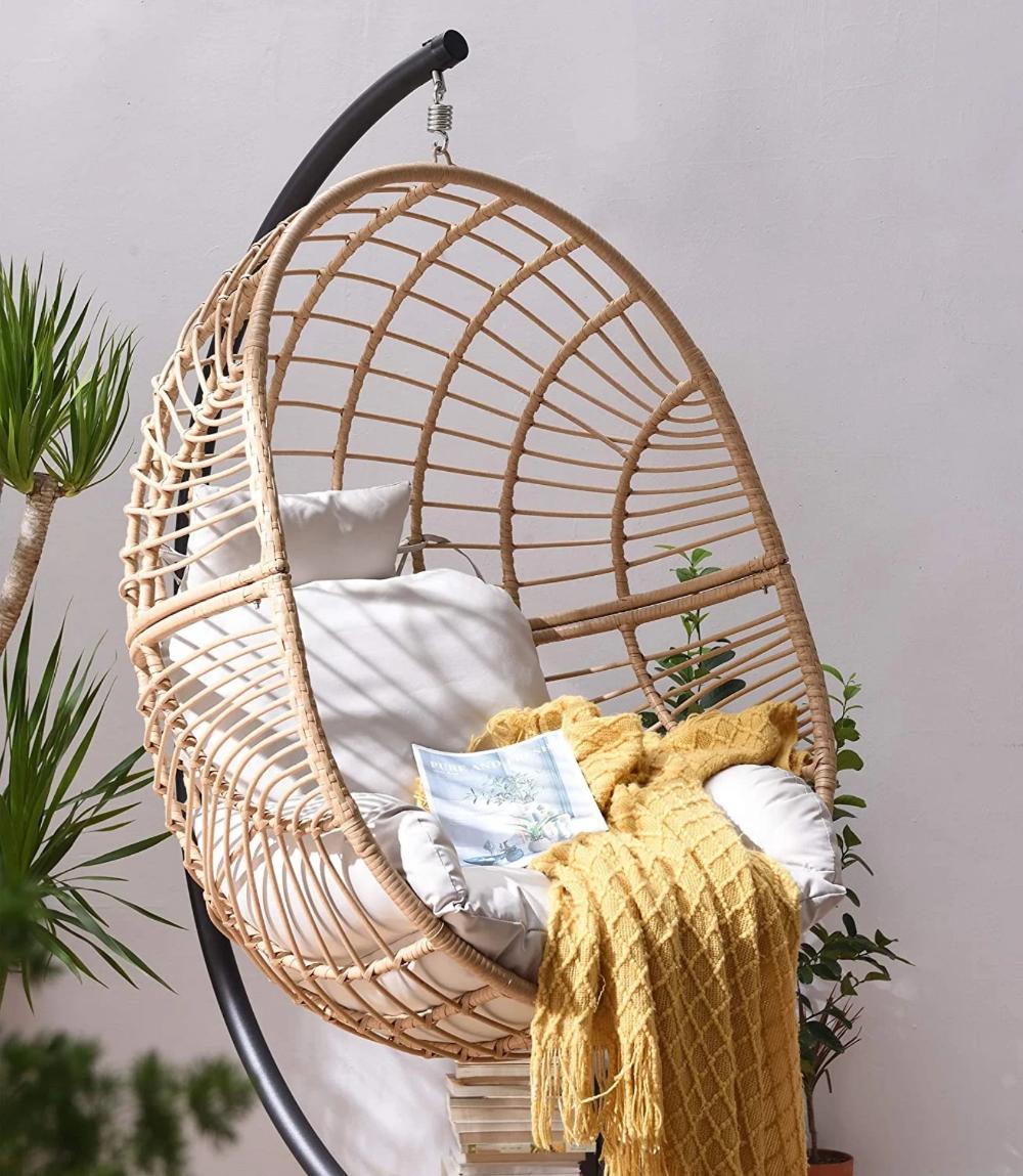 Hanging Basket Egg Chair Swing Pod Indoor Outdoor