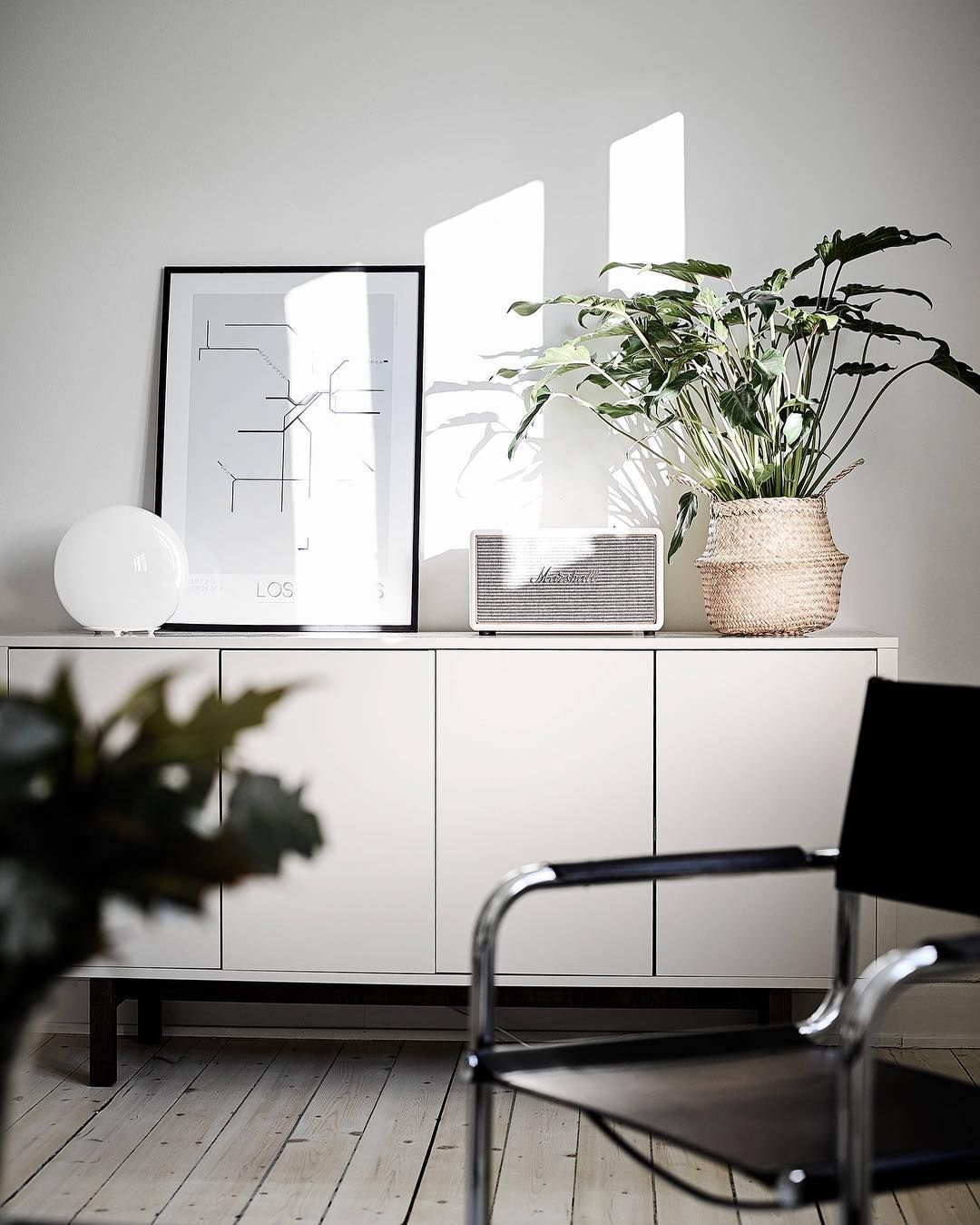 Ikea'Stockholm' sideboard @by ingelaberg Dallas Ikea stockholm sideboard, Ikea stockholm