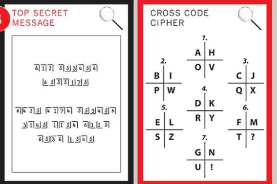 cipher cross codes puzzle concepts and inspiration coding