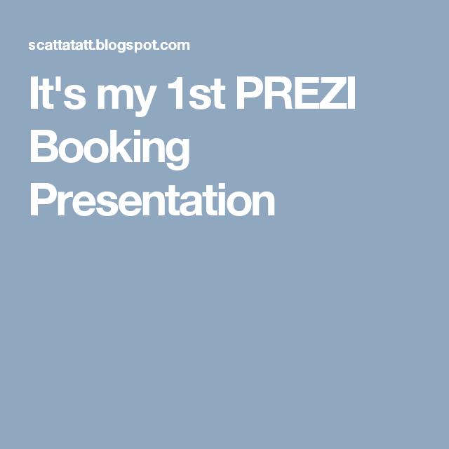 It\'s my 1st PREZI Booking Presentation   SCATTA R.Pee Press ...