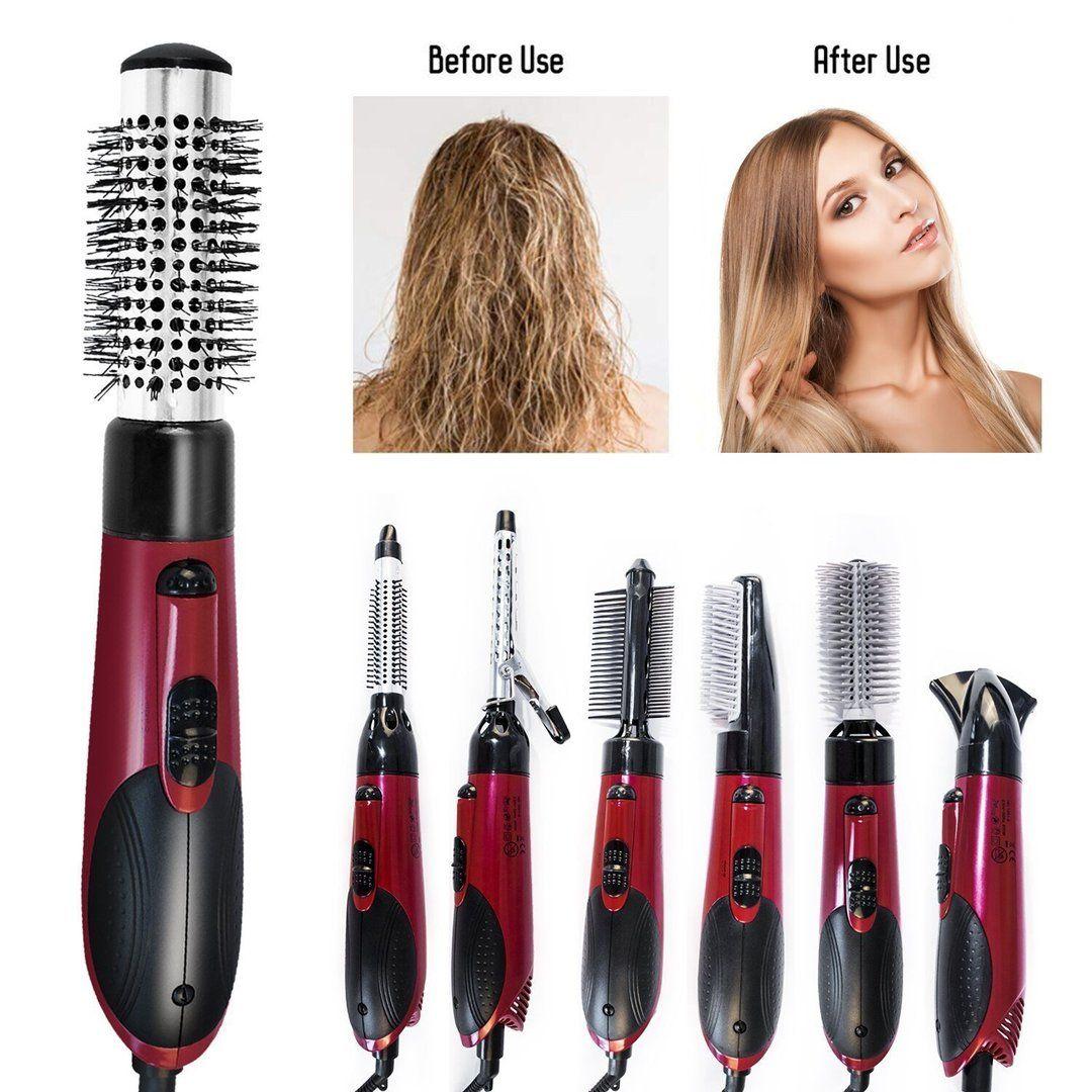 Hair Dryer Rotating Curling Iron Brush
