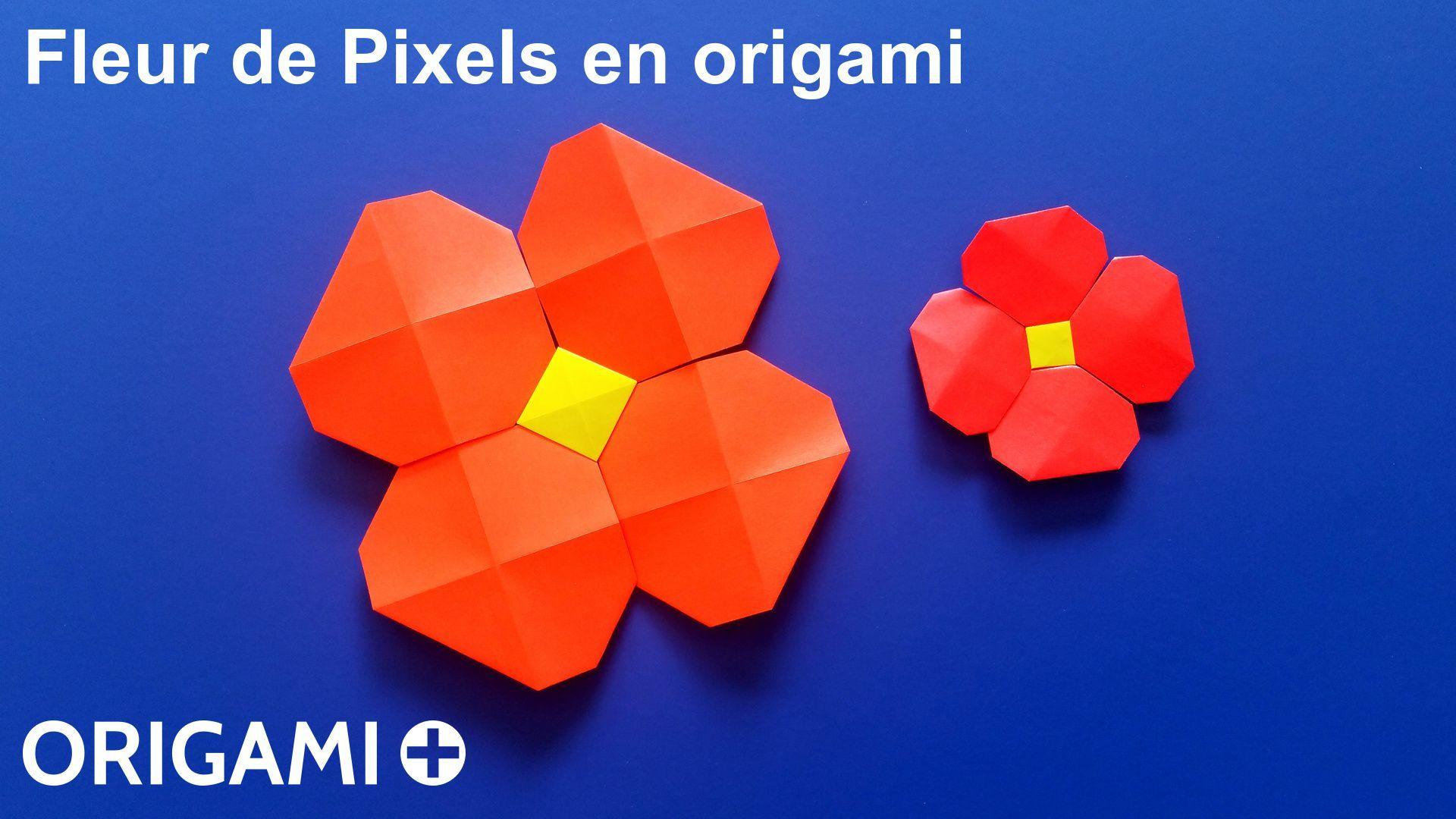Apprenez Comment Fabriquer Une Fleur En Origami Tres Facile Avec Les
