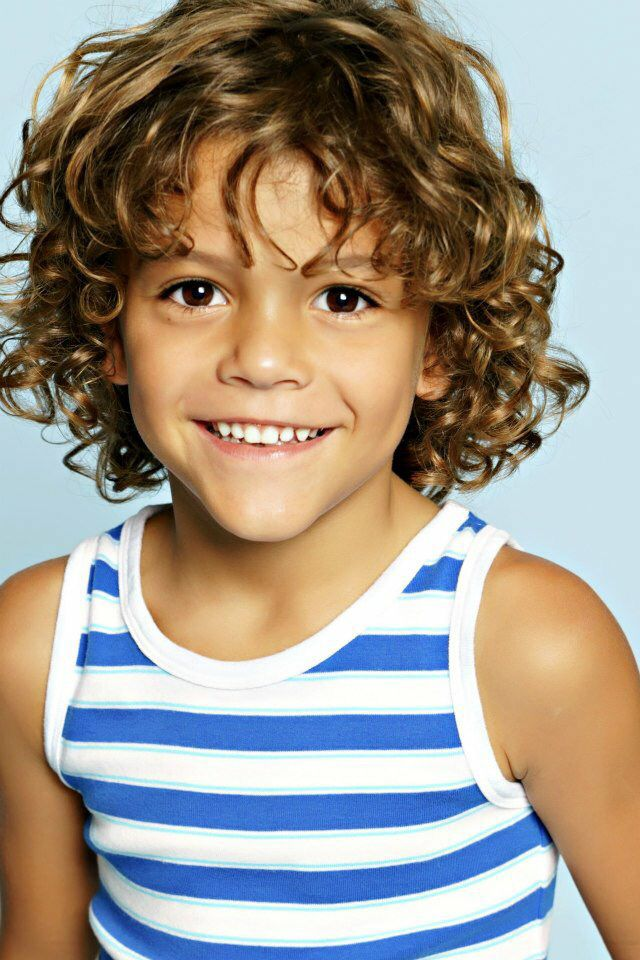 Shaina Leigh Photo Wow Thought It Was Luca Curls For Long Hair Boy Haircuts Long Curly Hair Styles