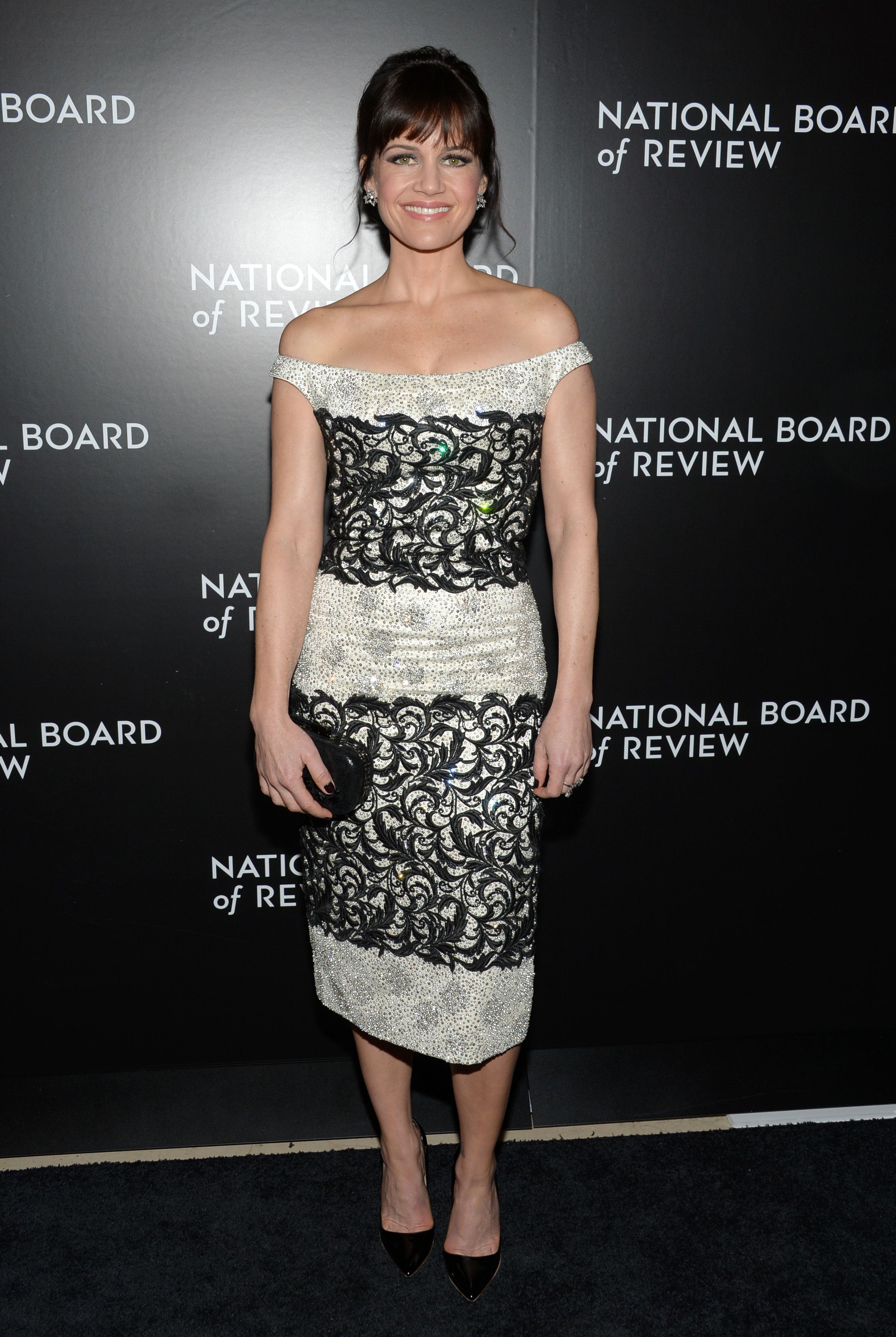 carla gugino at the 2015 national board of review luncheon in new york