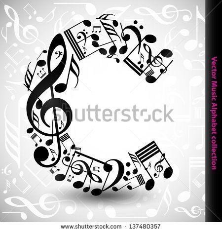 Healing note for V irgo   Sablonok   Music notes letters