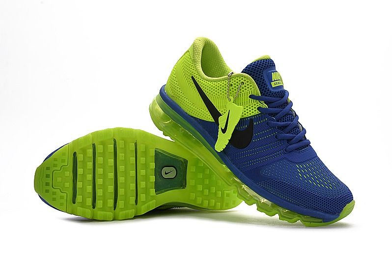 6c3383afb7bd2 Nike Air Max 2017 Blue Green Men Shoes