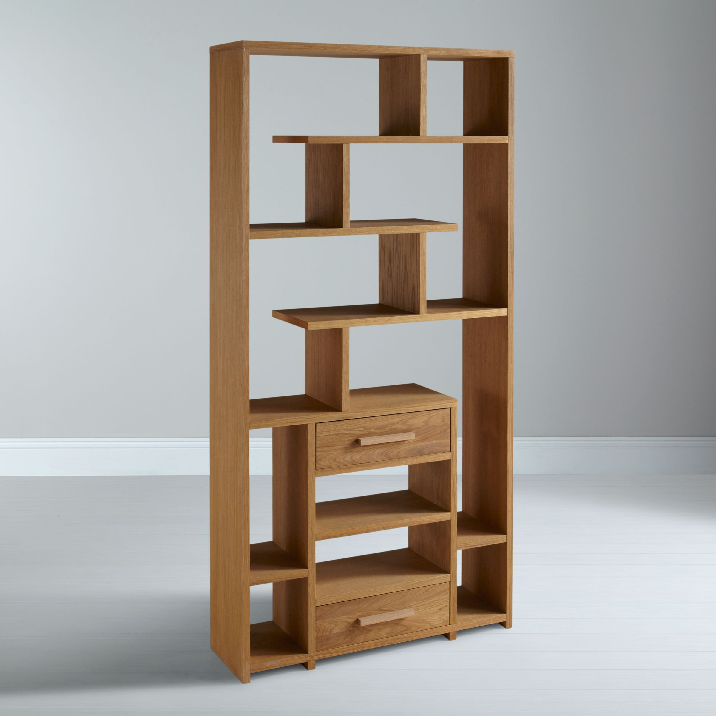 John Lewis & Partners Henry 2 Drawer Bookcase In 2020
