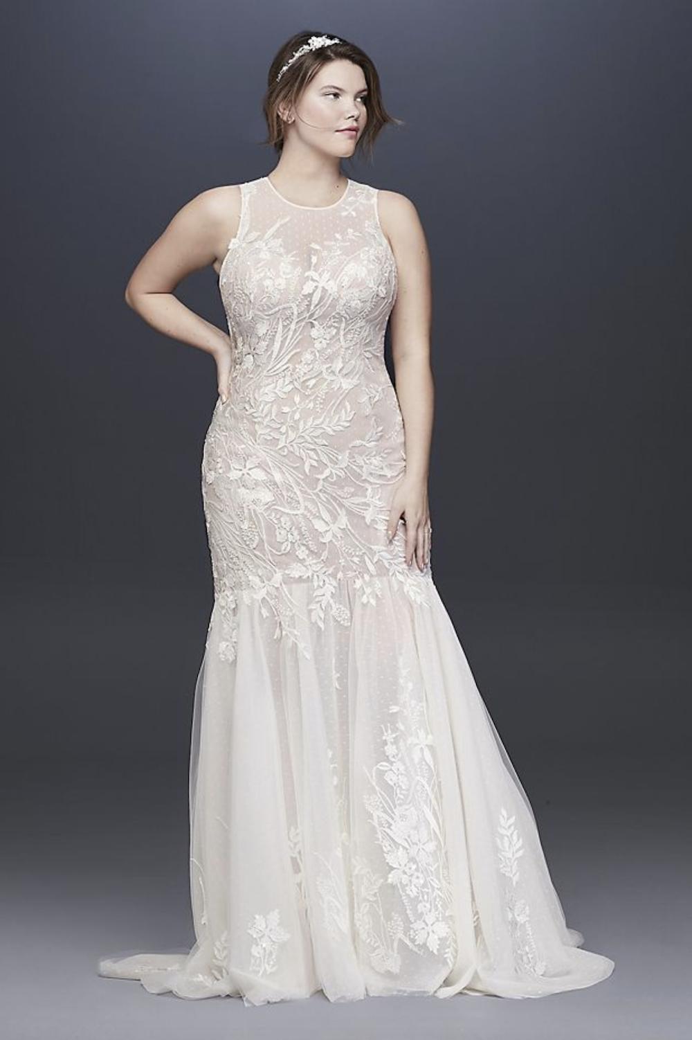 50 Plus Size Wedding Dresses For Curvy Brides Curvy Girl Dresses Davids Bridal Wedding Dresses Davids Bridal Plus Size Sweet Wedding Dresses [ 1502 x 1000 Pixel ]