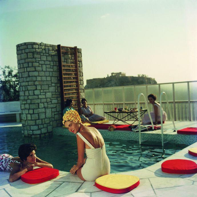 Penthouse Pool, July 1961 - Slim Aarons
