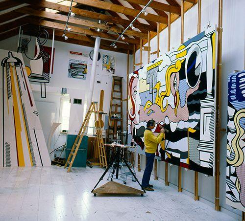 CHRONOLOGY – Roy Lichtenstein Foundation | ART & CRAFT IDEAS ...