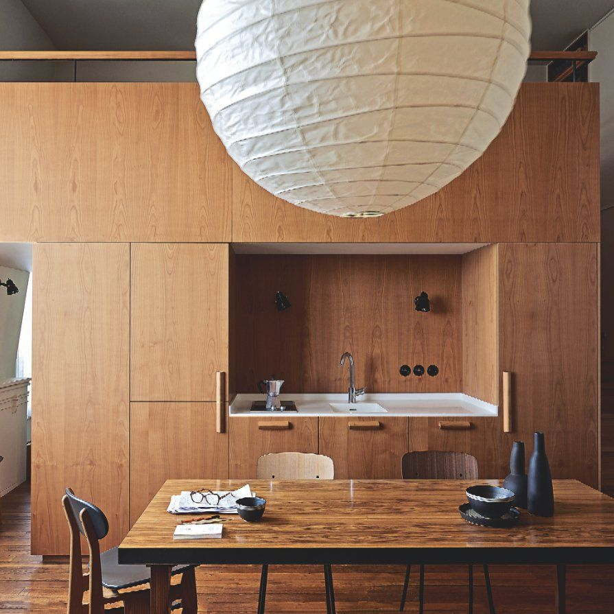 Favori Une cuisine en bois blond | architecture/design intérieurs | Pinterest OS93