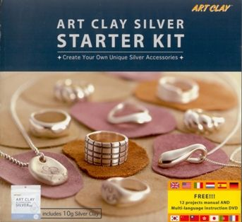 Art Clay Starter Kit Basic Silver Clay PMC Tools Kiln Set for Charms /& Jewelry