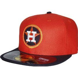 New Era MLB Batting Practice Diamond Era Houston Astros 5950 Cap