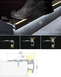 LED 계단 조명 시스템, 계단 조명