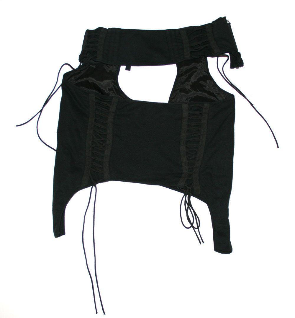 cut-out zero-gravity skirt • helmut lang