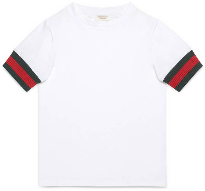 a27c6c4c1 Children's cotton t-shirt with Web | Kid's style | Gucci tee, Gucci ...