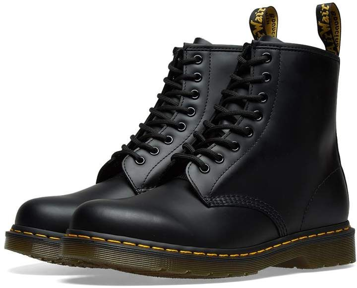 Dr. Martens 1460 8 Eye Smooth Leather Boot in 2019 | Boots