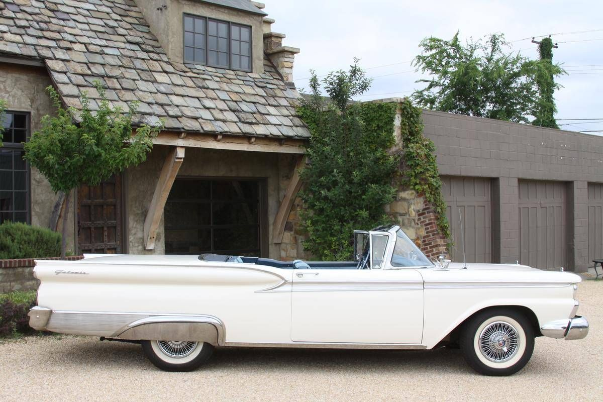 1959 Ford Galaxie Skyliner Maintenance/restoration of old/vintage vehicles: the material for new cogs/casters/gears/pads could be cast polyamide which I (Cast polyamide) can produce. My contact: tatjana.alic@windowslive.com