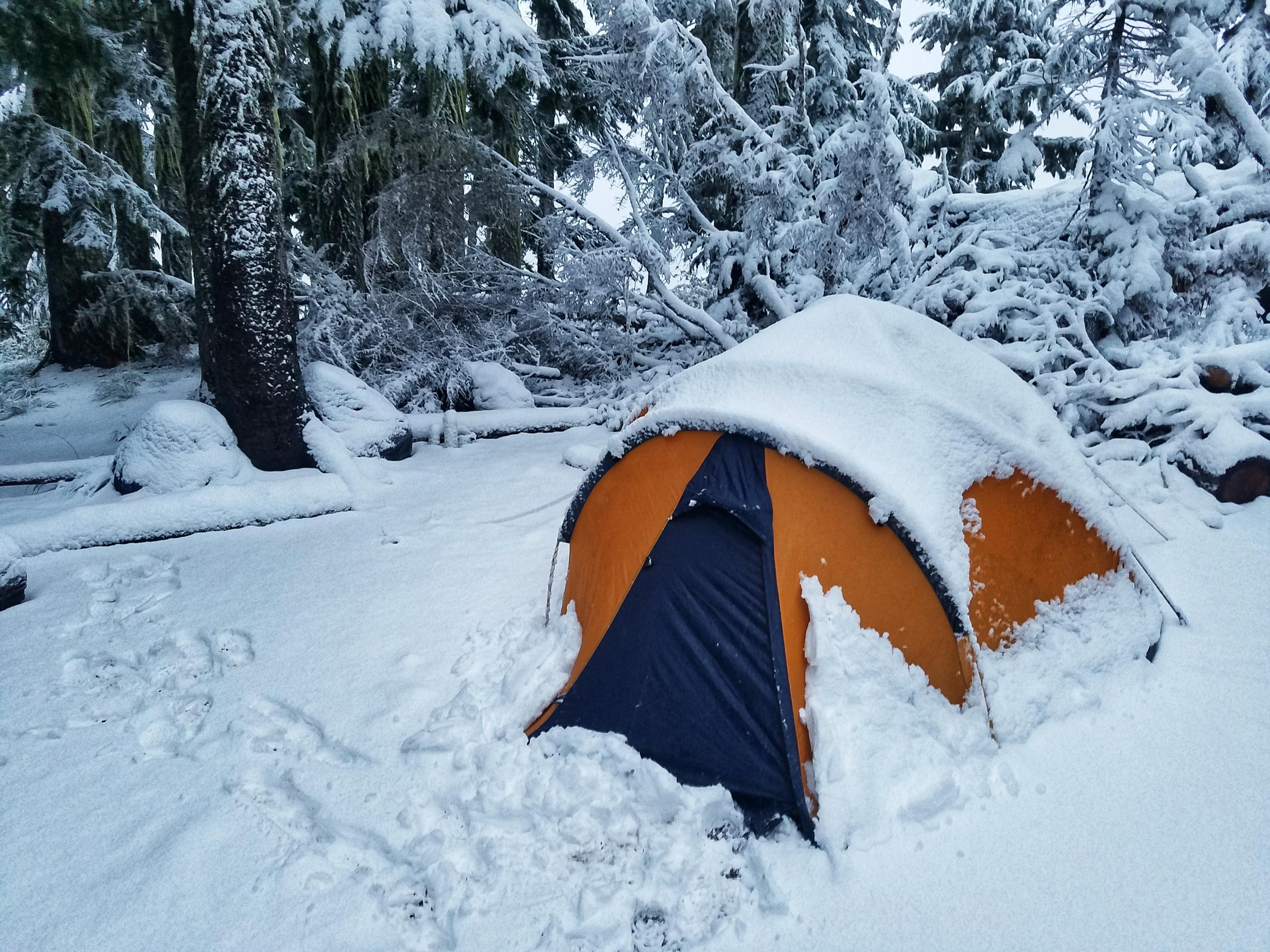 The last days of summer Klapatche Park Camp Mount Rainier ...