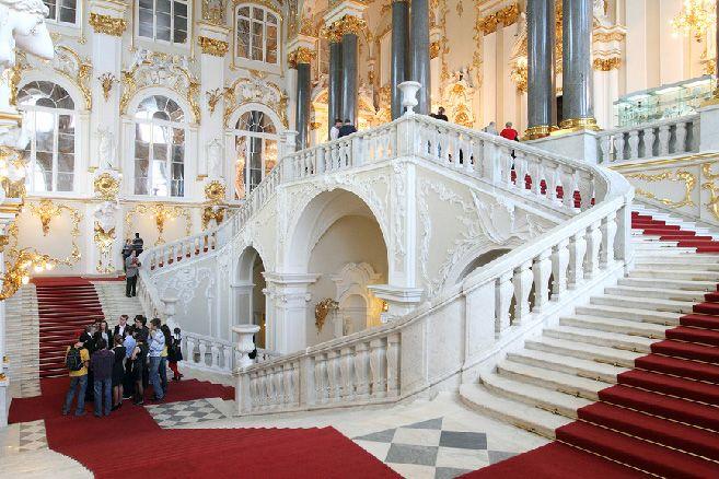 ambassador 39 s jordan staircase at the winter palace. Black Bedroom Furniture Sets. Home Design Ideas