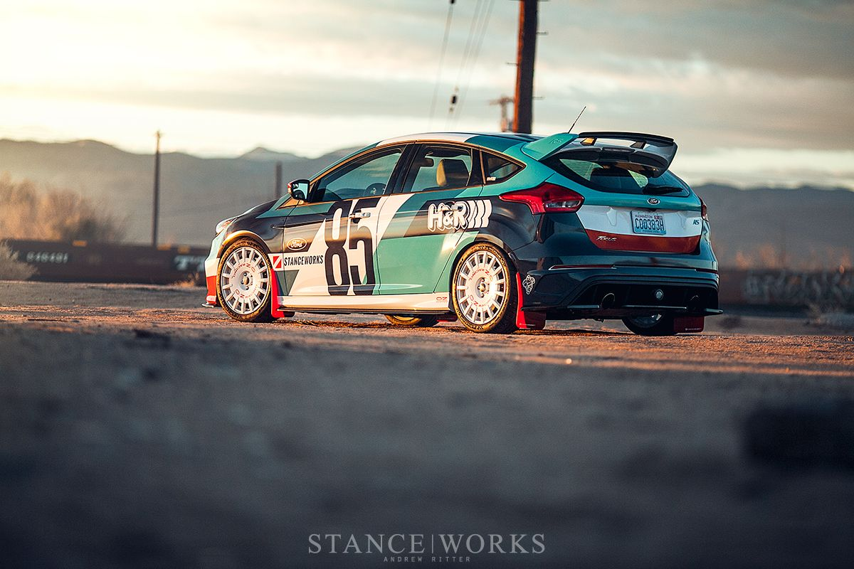 Stanceworks Hr Springs Ford Focus Rs Oz Rally Racing Wheel Ford