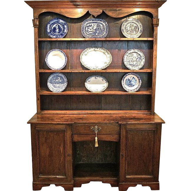 Traditional English Victorian Kitchen Dresser In 2020 Victorian