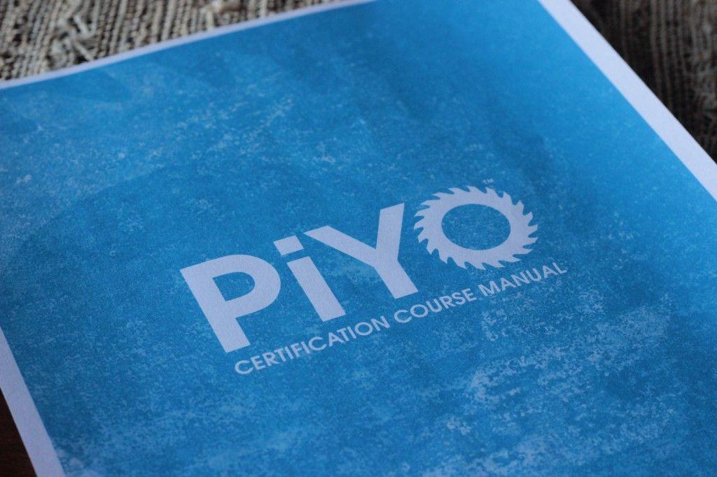 piyo training certification