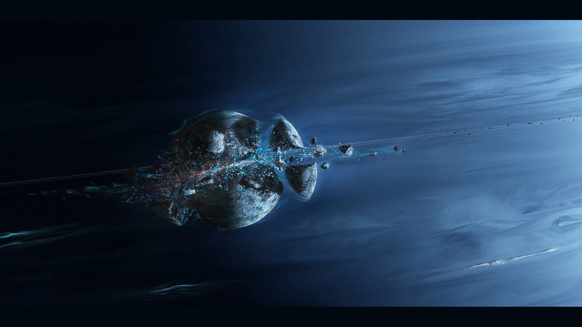 awesome exploding planet 15340 Check more at http://www.finewallpapers.eu/pin/23018/