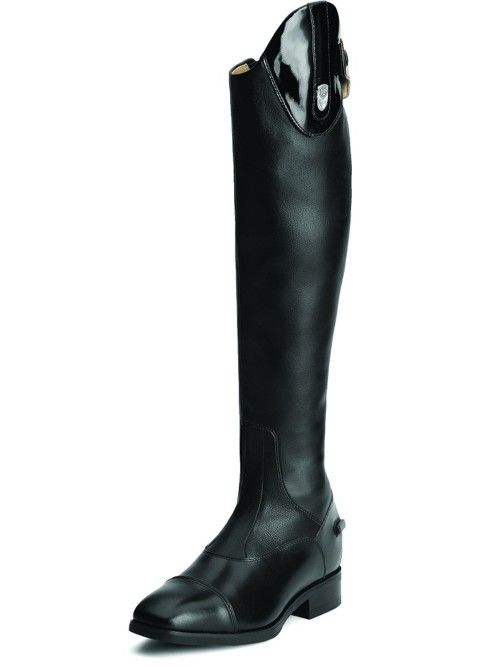 a8b98fe31c11b Ariat® Monaco Stretch Tall Zip Boots - Black