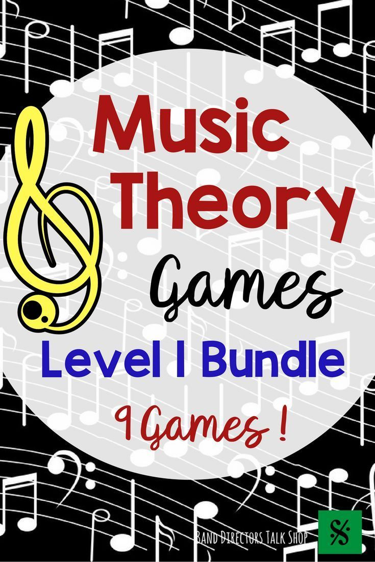 Music Games Bundle- Level 1 Music Theory Games | Music word walls ...