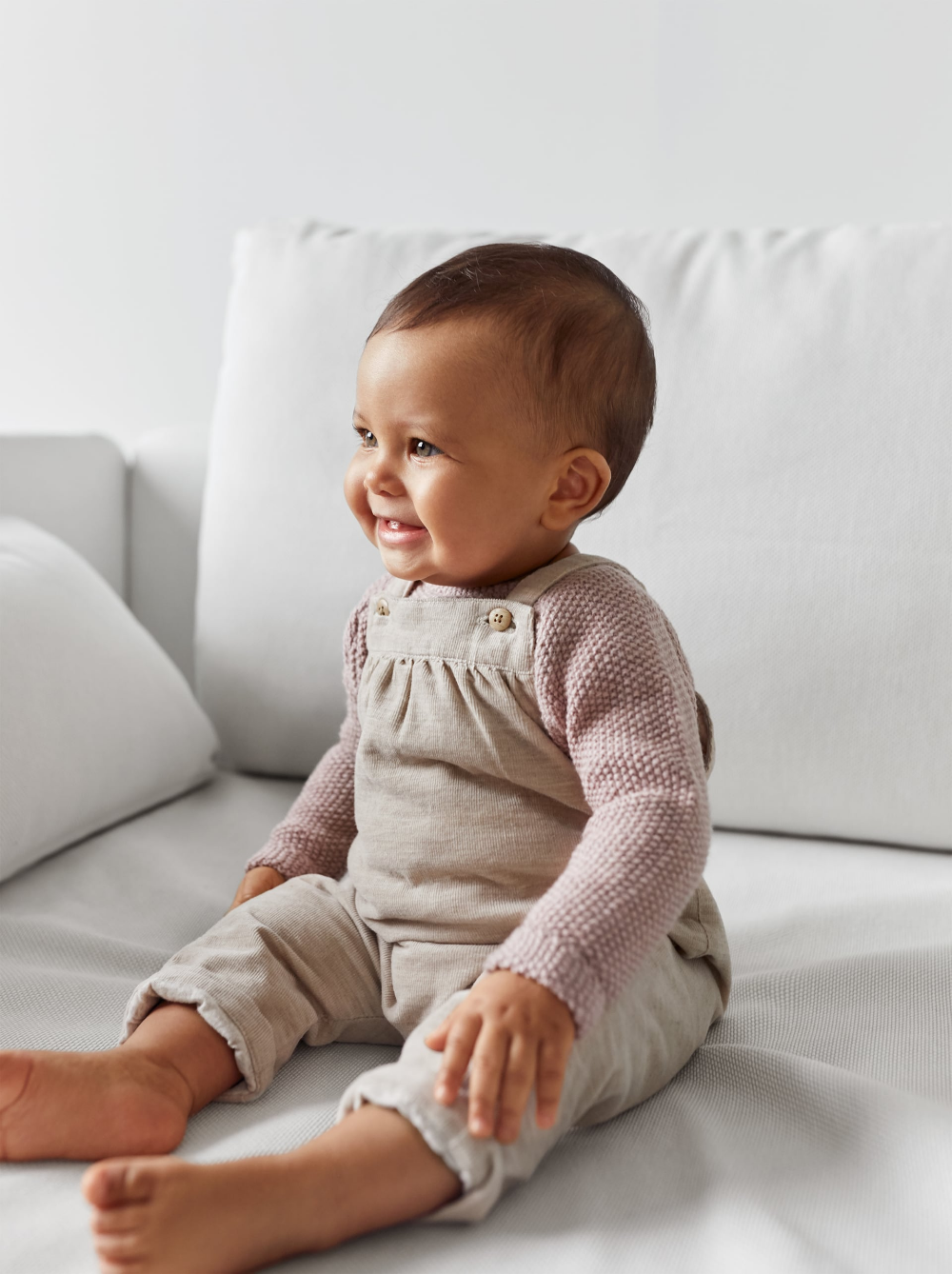 Fine waled corduroy overalls (With images) | Baby outfits ...