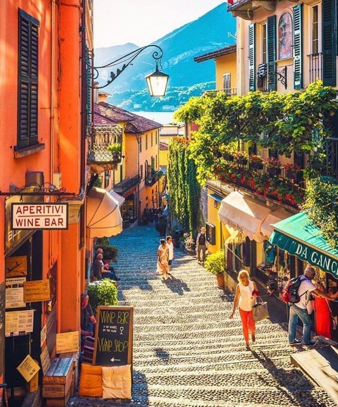 Bellagio Lago Di Como Italy Italy Tourism Italy Travel
