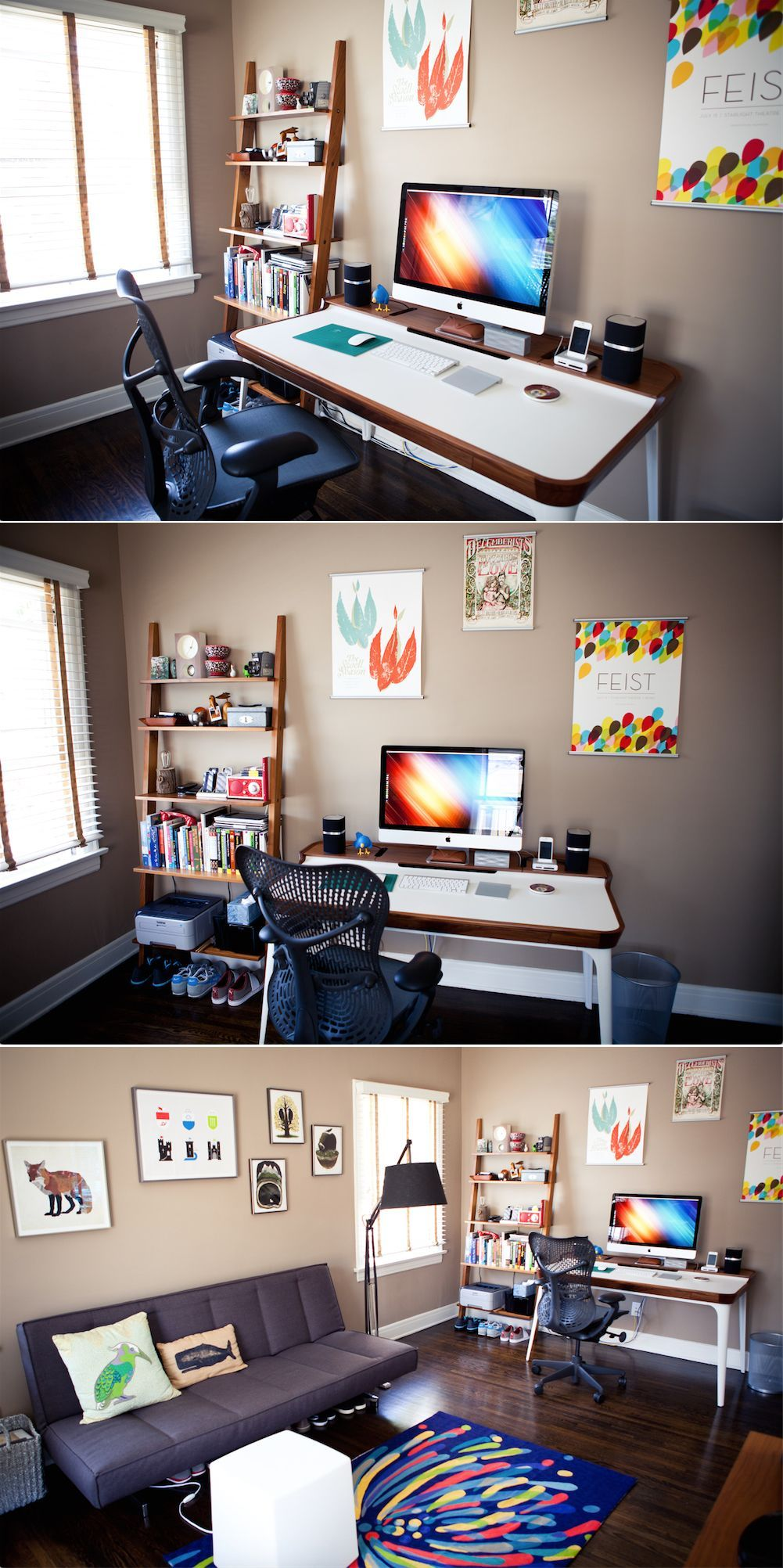30 home office setup ideas to improve your productivity - Home office setup ideas ...