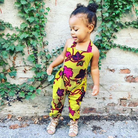 317f8a8d55a Temmie House Of Fashion  Lovely Ankara Jumpsuit Style For Kids ...