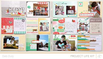 Project Life Week 23 by debduty at @Studio_Calico