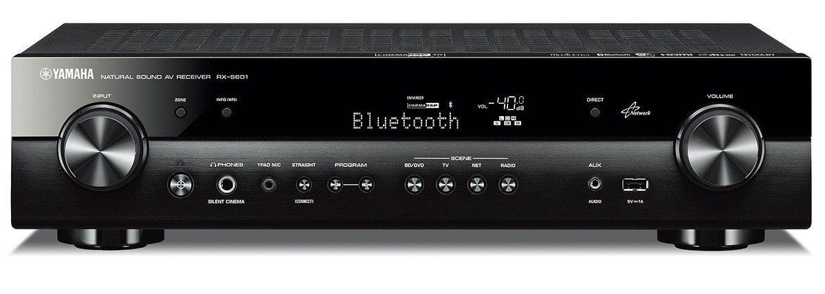 Yamaha RX-S601 Slim and Compact 5.1 Home Theater Network Receiver ...