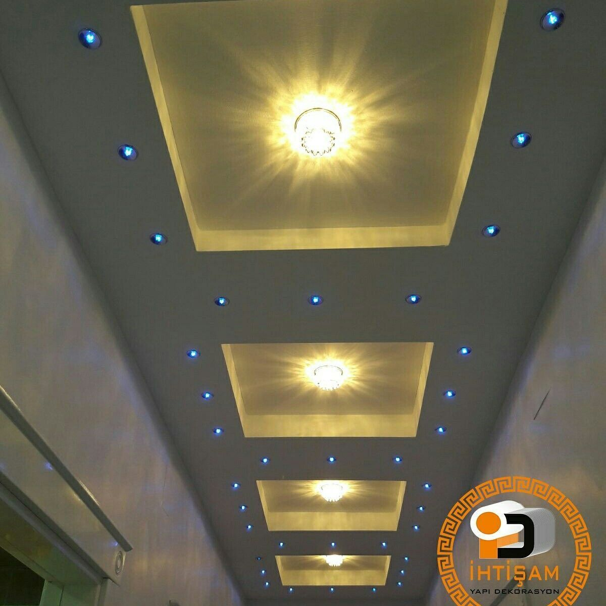 interior design for hall fall ceiling lighting
