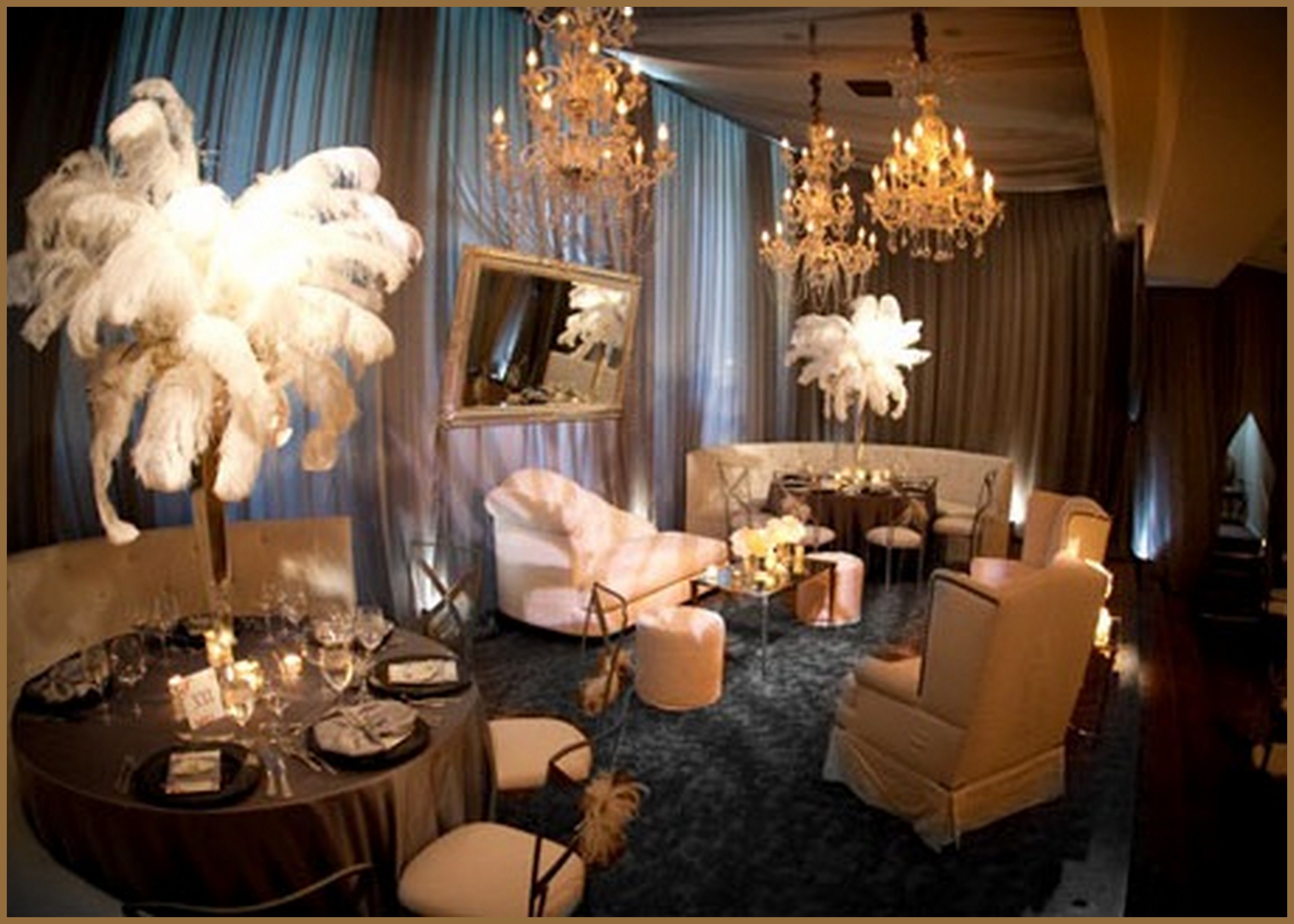 Great Gatsby Wedding Lounge Stunning Www