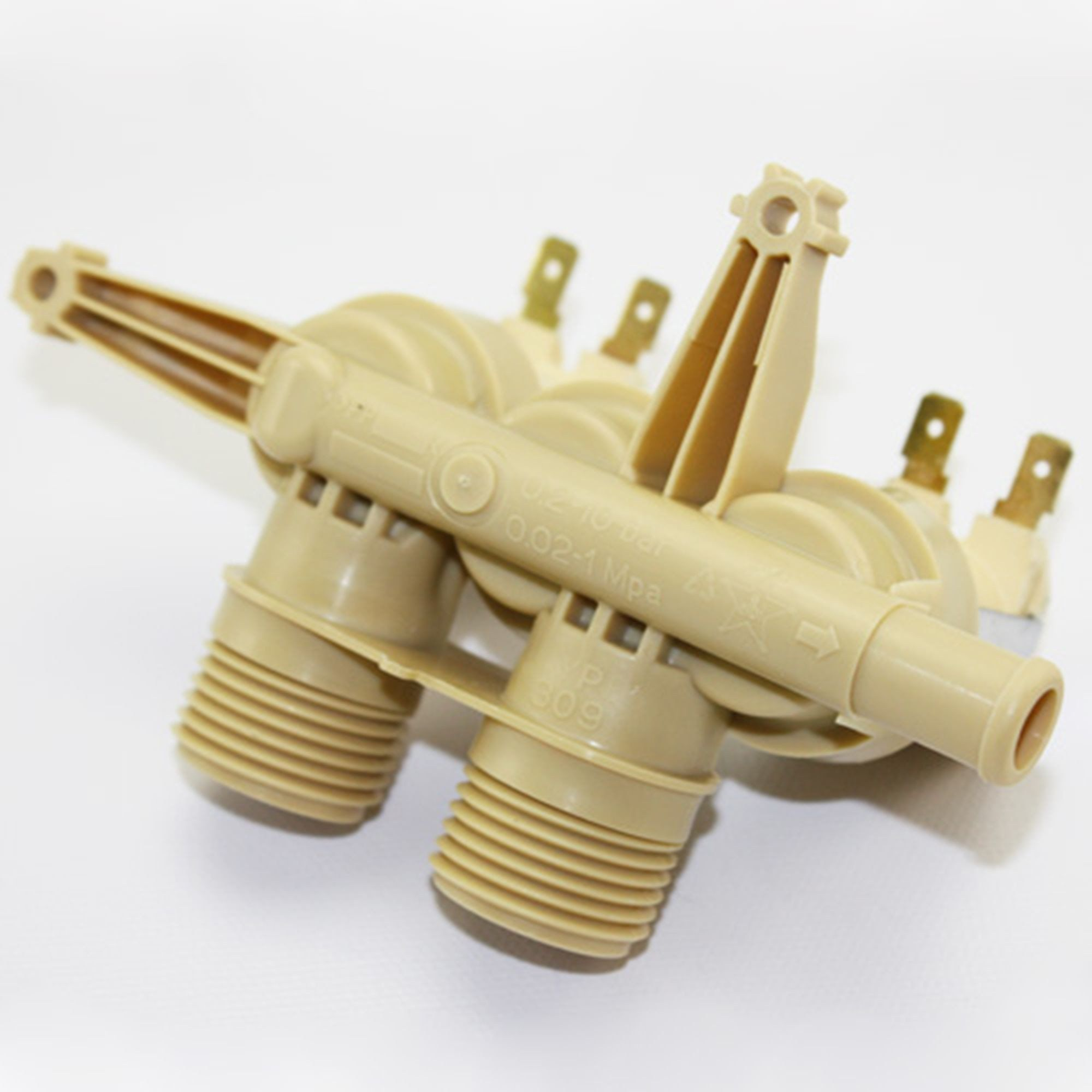 WH13X10048 Triple Inlet Water Valve For GE Hotpoint Washing Machines Washers