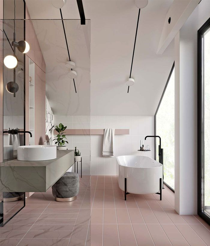 Bathroom Trends 2019 / 2020 – Designs, Colors and Tile Ideas