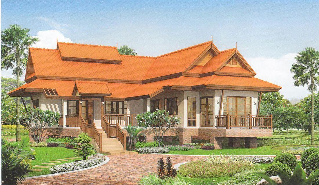 ผลการค้นหารูปภาพสำหรับ บ้านแบบไทย