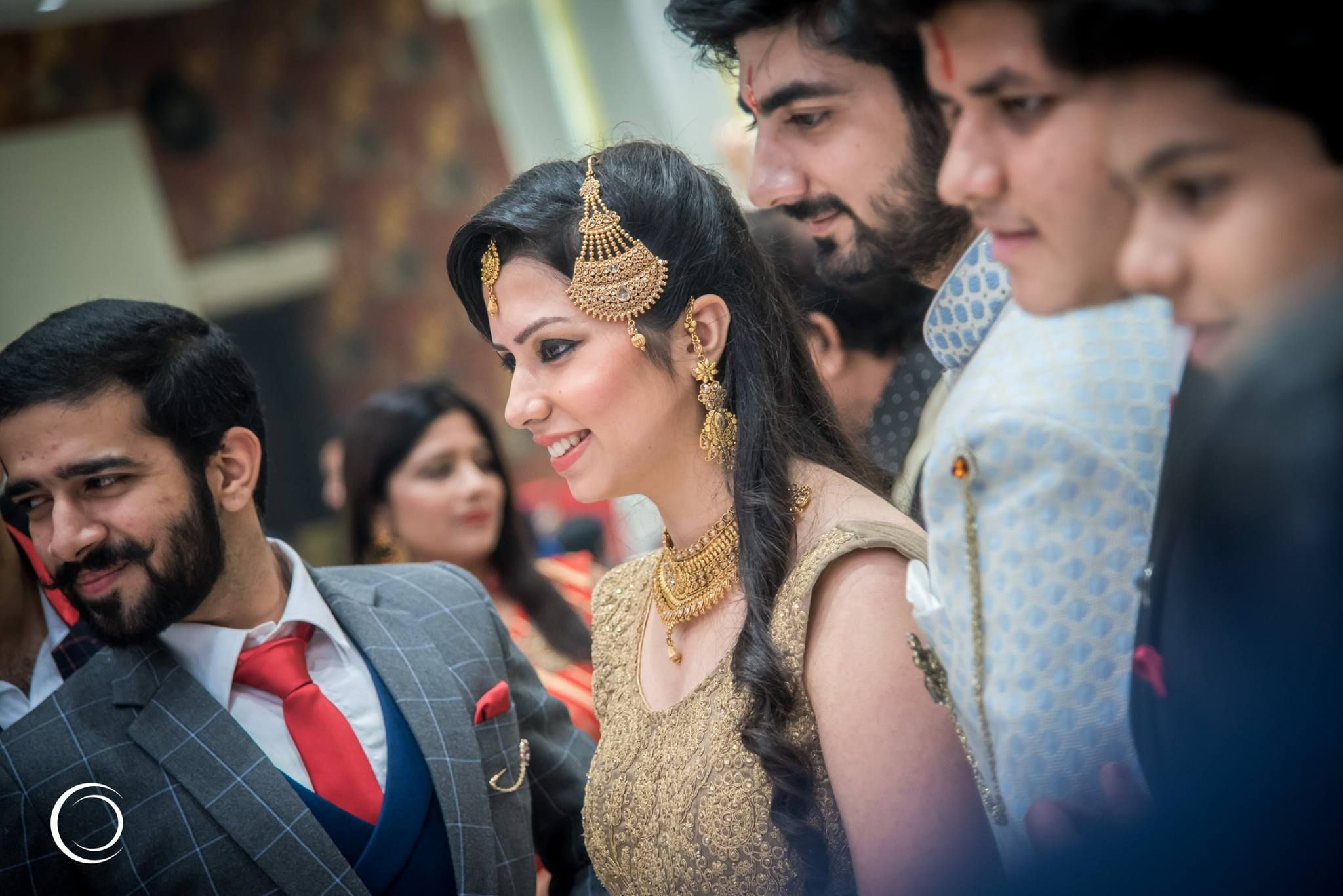 Candid bridalgroom portrait wedding photography by ankit mishra