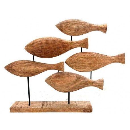 Decoraci n para casa de madera figura de madera para for Adornos de madera para pared
