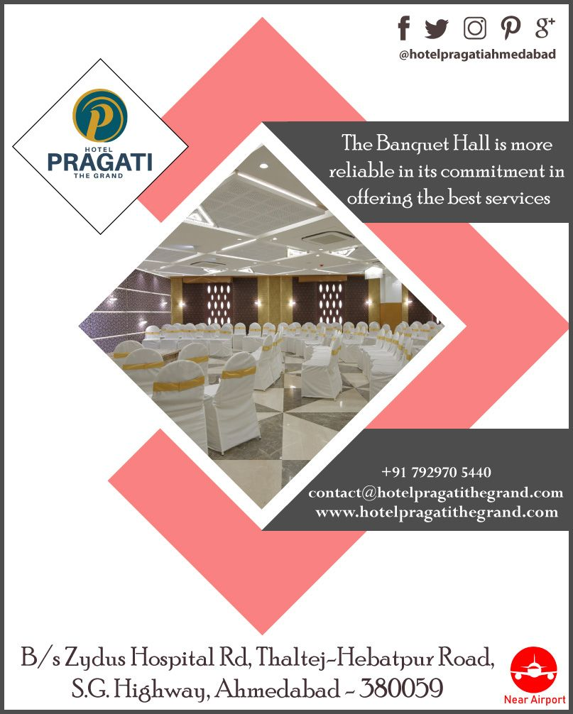 Hotel Pragati The Grand The Banquet Hall Is More