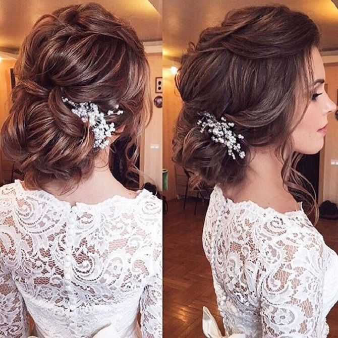 Beautiful Updo Wedding Hairstyle To Inspire You: Beautiful Loose Updo Hairstyle To Inspire You