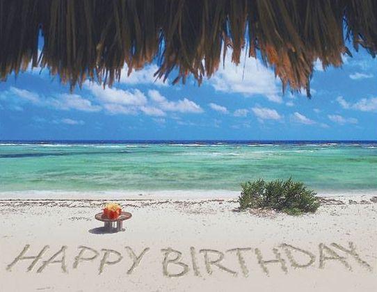 Happy Birthday Sand Ocean With Images Happy Birthday Meme